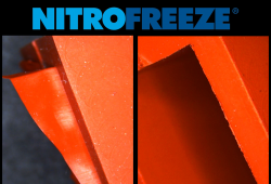 Rectangular Silicone Gasket (Cryogenic Deflashing)